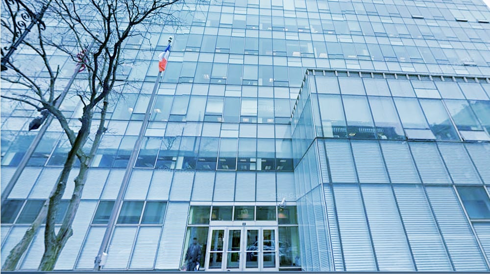 the glass building that the Office of Richmond County is in
