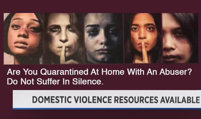 Push to alert domestic violence victims about resources during pandemic