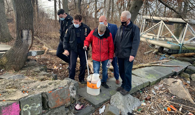DA McMahon urges residents to report discarded needles
