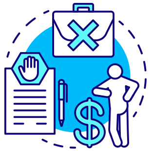 Threats and Extortion Scams icon