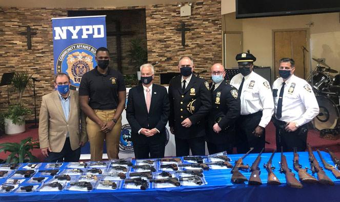 Gun buy-back event takes guns off Staten Island streets