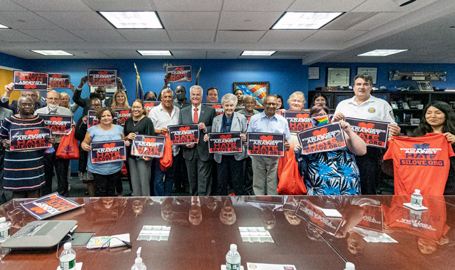 Anti-hate initiative ramped-up on Staten Island, modeled after drug-abuse campaign Updated Aug 10, 2021; Posted Aug 10, 2021