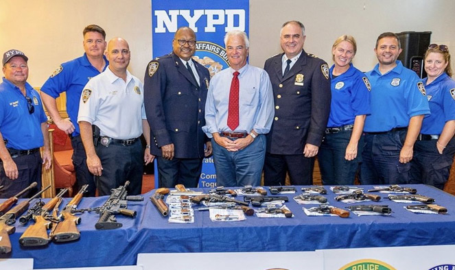 40 guns collected in NYPD 'no questions asked' buy-back event